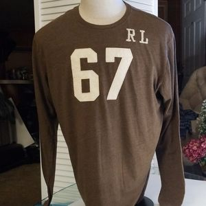 Polo Jeans Co. Brown Long Sleeved Shirt